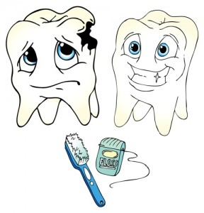Prevenbting teeth from decaying