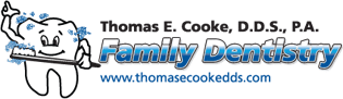 logo for Thomas E. Cooke, D.D.S., P.A. Family Dentistry